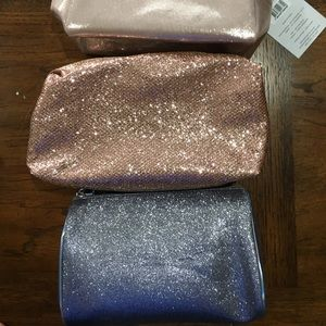 3 makeup bags to choose from